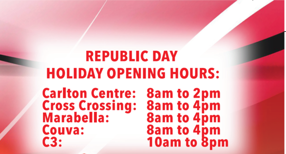 Holiday Hours Republic Day