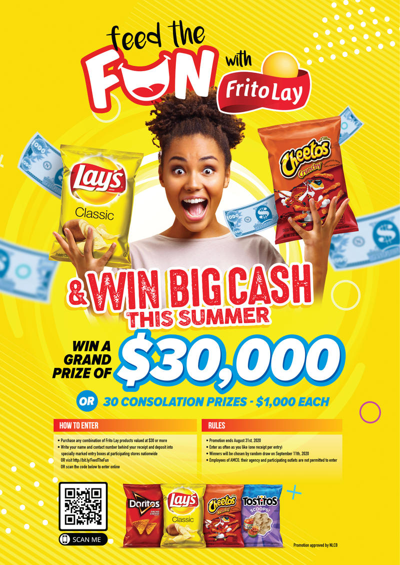 FRITO LAY FEED THE FUN SUMMER PROMOTION