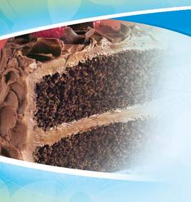 Download our monthly flyer for Chocolate Cake