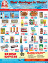 Download our monthly flyer for The Best Savings in Town!