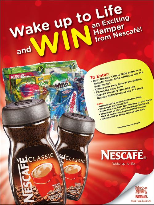 Win 1 of 20 Nescafe Hampers valued at $500 each!