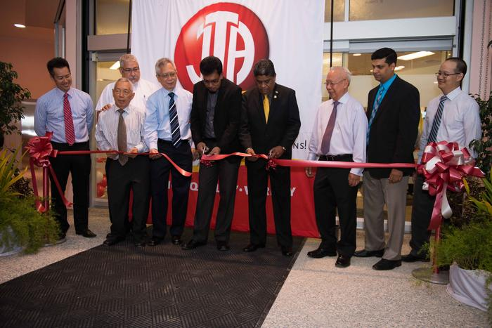 JTA C3 ribbon cutting ceremony