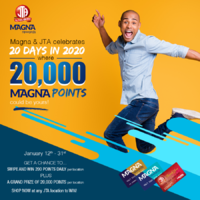 20 DAYS in 2020 with MAGNA/JTA