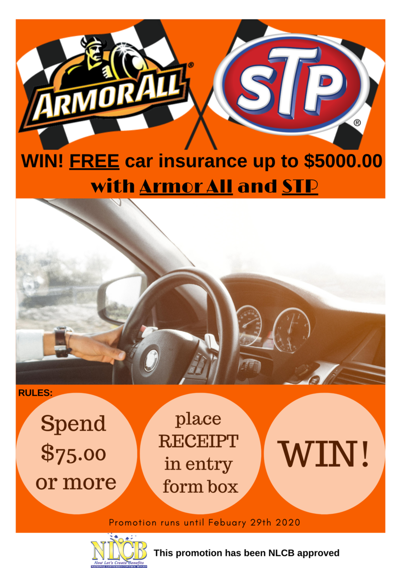 Armour All & STP Enter to Win Promotion