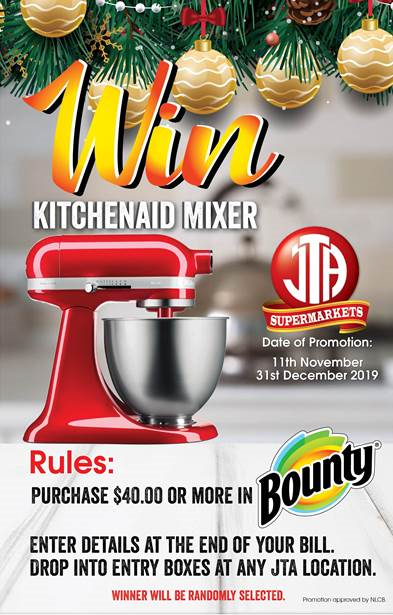 Win a KitchenAid with Bounty Promotion!