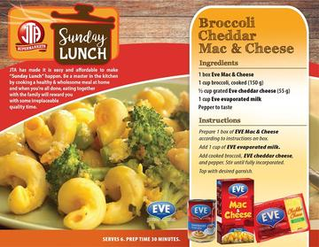 Broccoli Cheddar Mac & Cheese