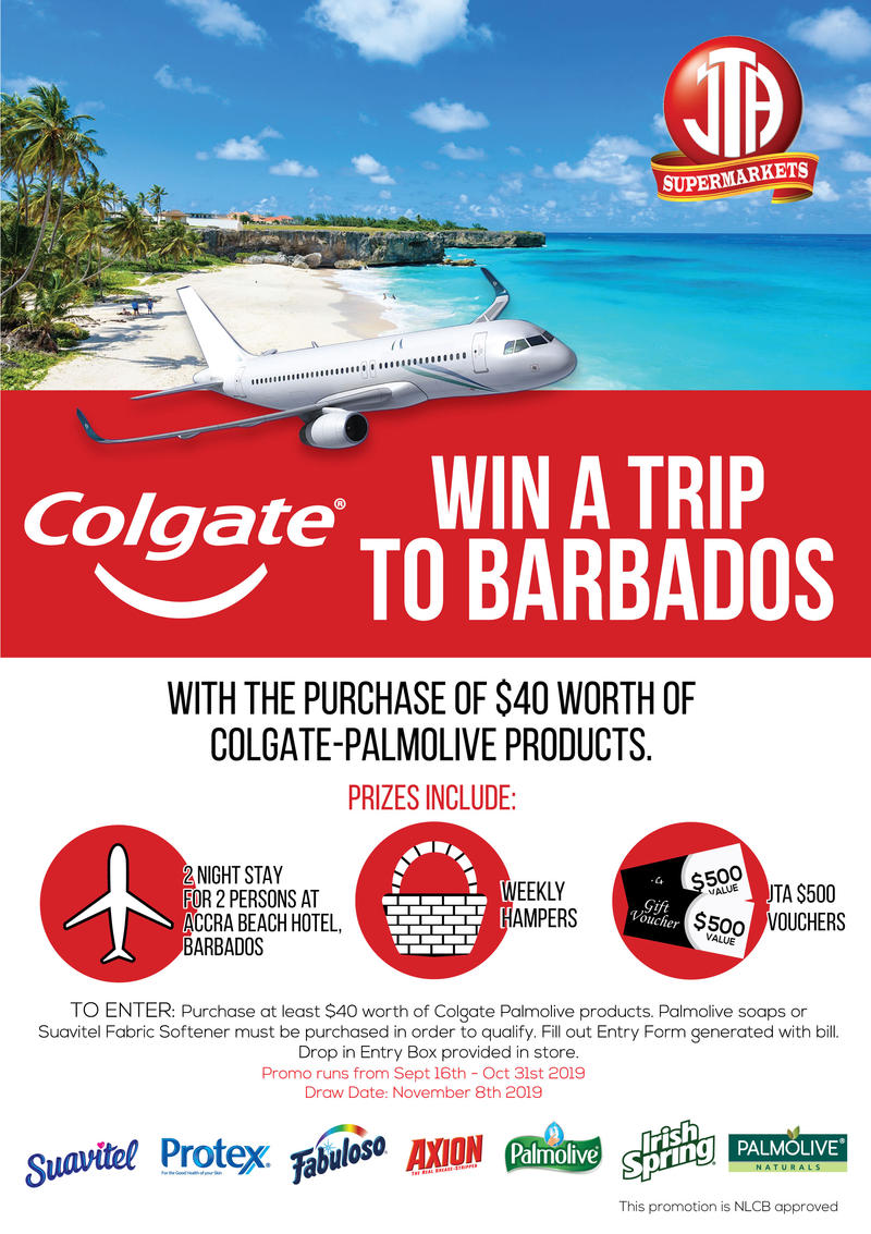 WIN a Trip to Barbados with Colgate!