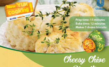 Cheesy Chive Biscuits