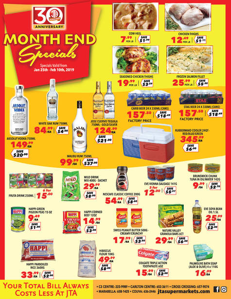 Download our monthly flyer for New Year, New Savings!