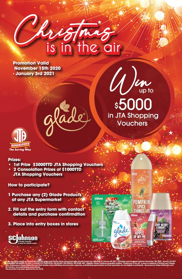 CHRISTMAS IS IN THE AIR GLADE PROMOTION