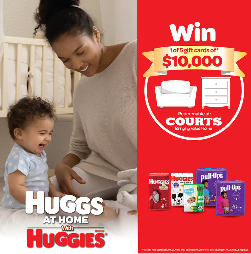 HUGGS AT HOME WITH HUGGIES PROMOTION