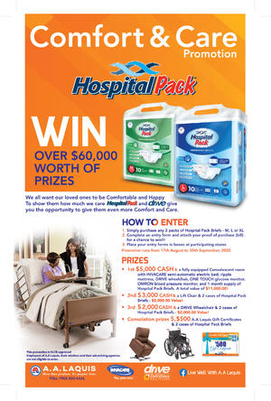 HOSPITAL PACK'S COMFORT & CARE PROMOTION