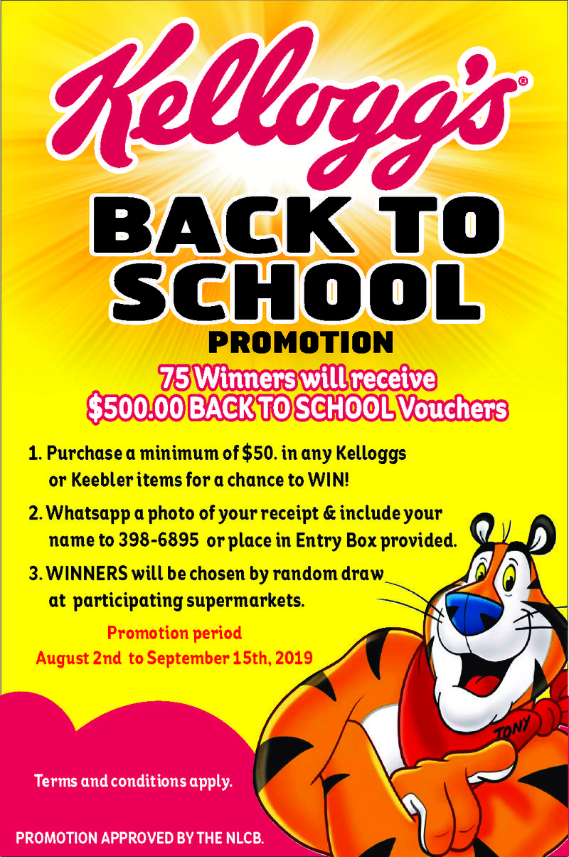 KELLOG'S BACK TO SCHOOL PROMOTION