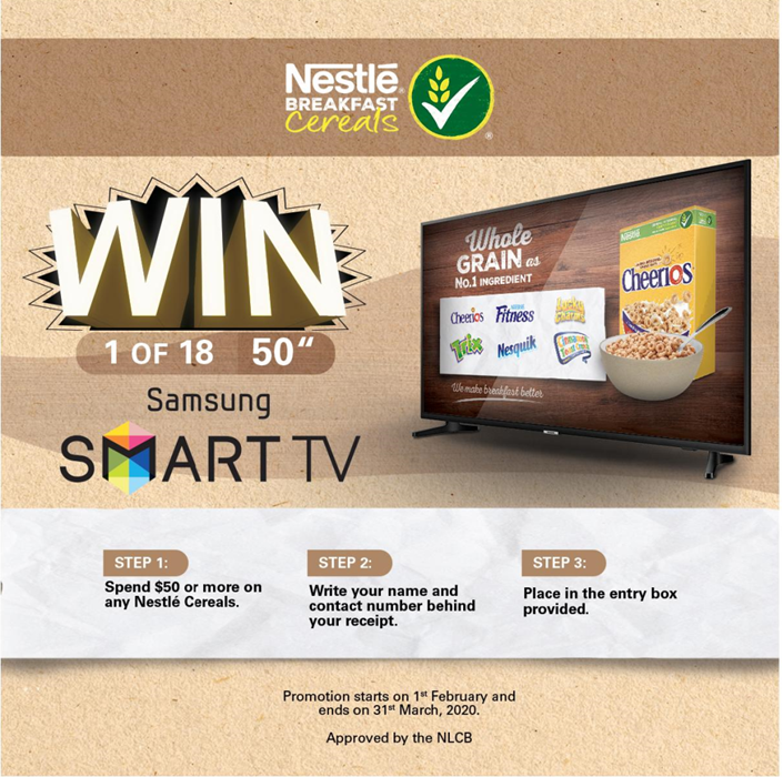 NESTLE CEREALS PROMOTION