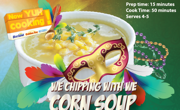 We Chipping with We Corn Soup