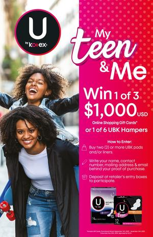 MY TEEN AND ME KOTEX PROMOTION