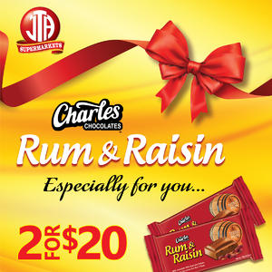 Charles Chocolates Rum & Raisin Especially For You