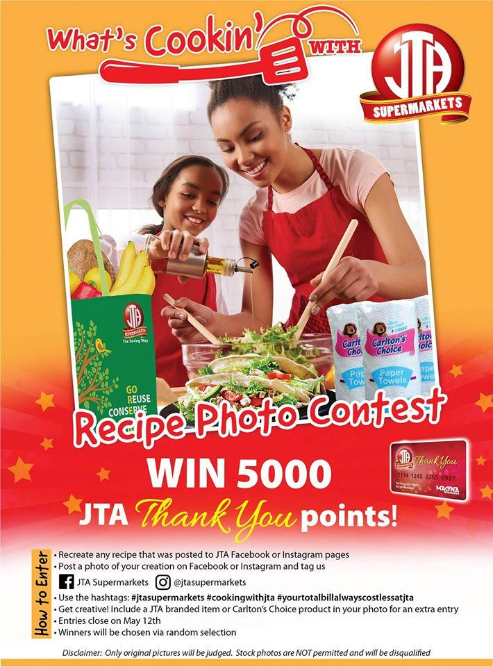 JTA RECIPE CONTEST!!