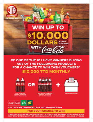 SHOP & WIN WITH COCA COLA PROMOTION